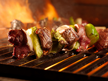 Beef Kebab with Ukuva iAfrica Zulu Fire Spice
