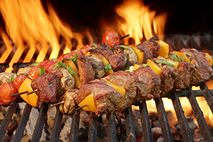 Ukuva iAfrica Sosaties (kebabs) with Safari BBQ