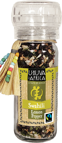 Ukuva iAfrica FLO Pepper grinder: Swahili Lemon Pepper